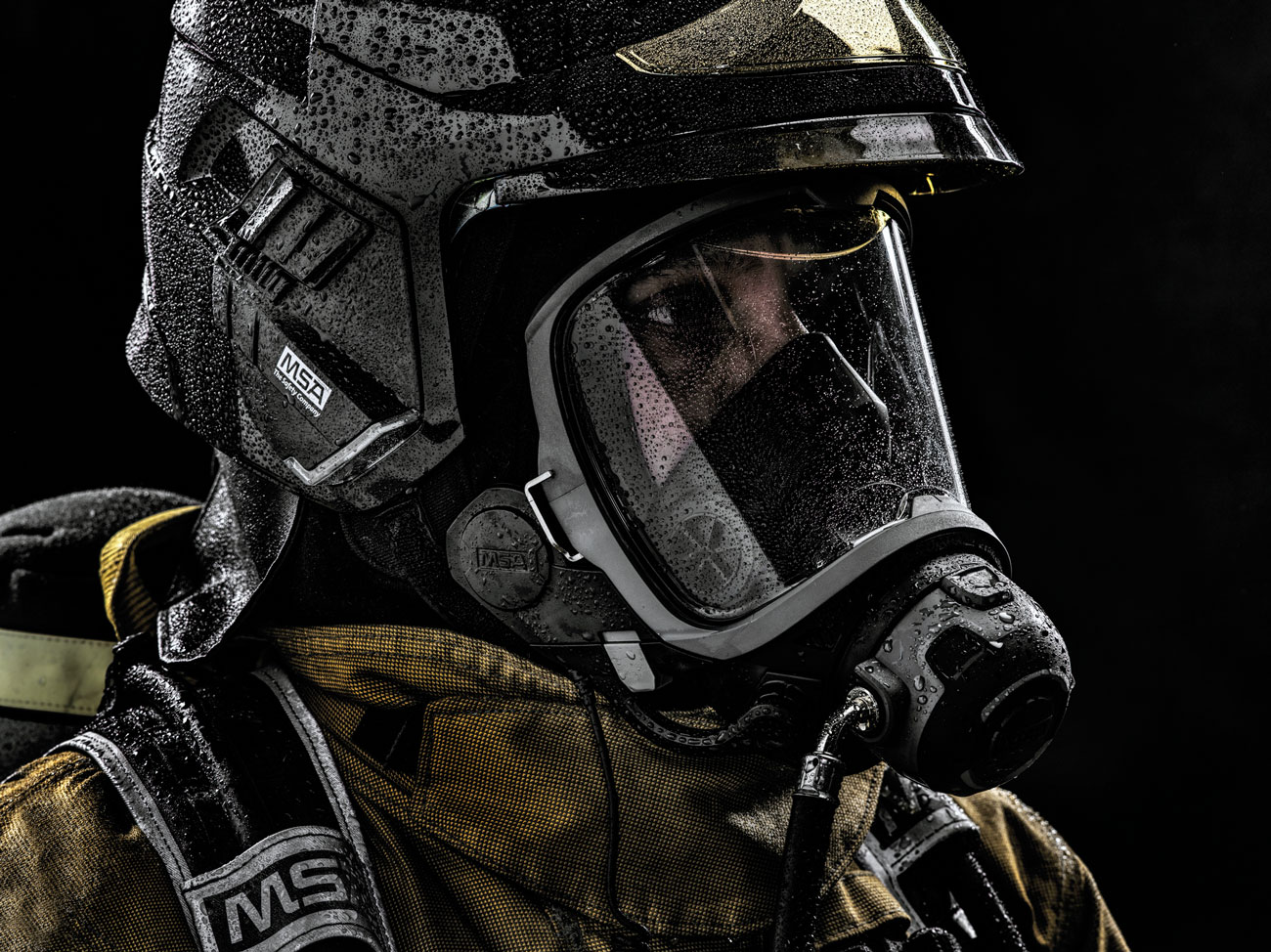 MSA G1 Mask with C1 Headset – part of the future-proofed M1 SCBA solution.