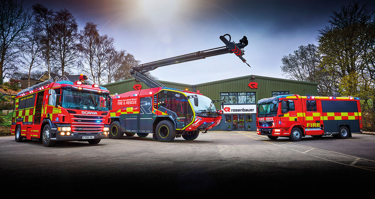 Rosenbauer is renowned as a manufacturer of firefighting vehicles but also produces a wide range of firefighting and rescue equipment.