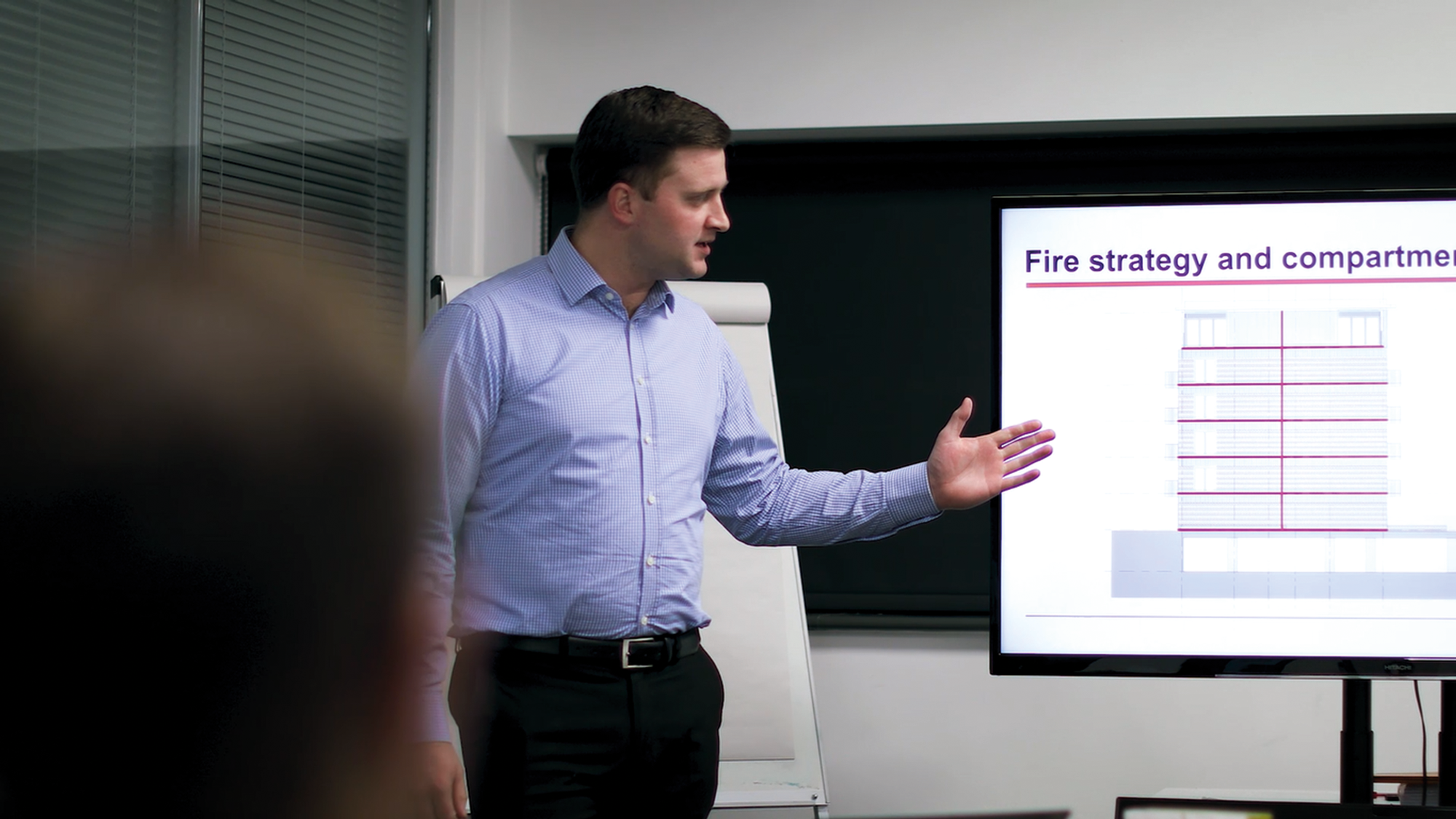 Educating the construction industry about firestopping is key.