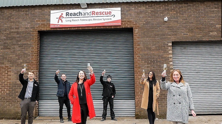 Image copyright: Reach and Rescue