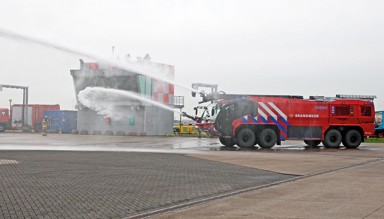 In 2016, Schiphol Airport in Amsterdam upgraded their firefighting trucks to help the airport to provide sustainable firefighting performance.