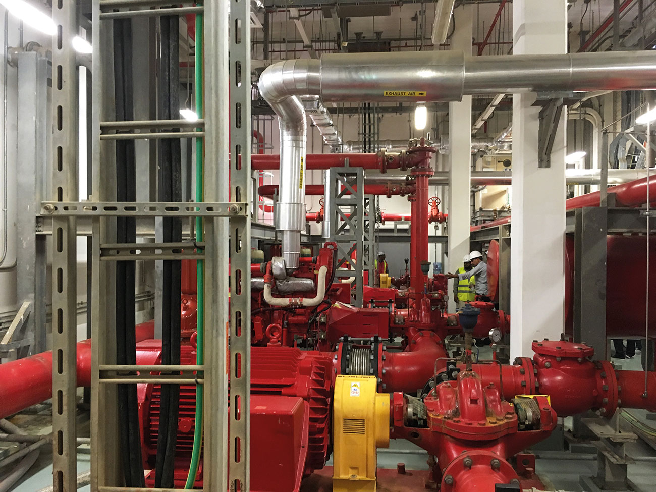 Sprinkler pump house inspections form a key part of ensuring system availability and reliability.