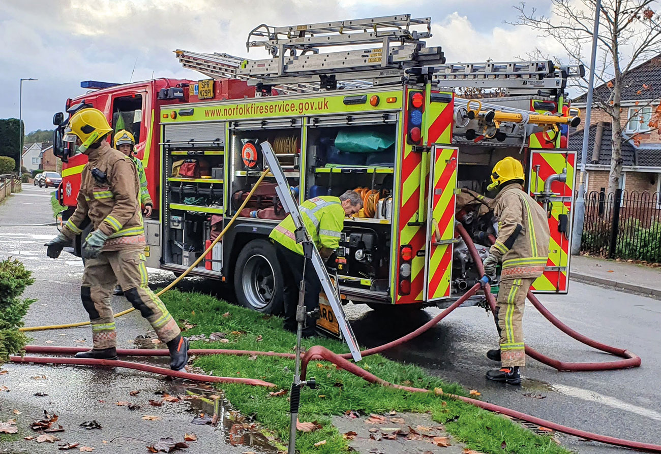 Emergency service workers in Norfolk frequently deal with incidents in rural areas, meaning quick and effective response is vital.