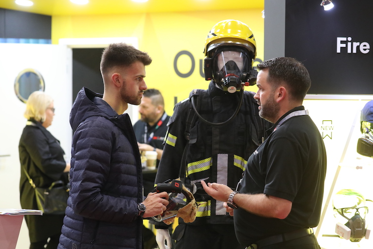 Visitors to The Emergency Services Show can see the latest PPE innovations.